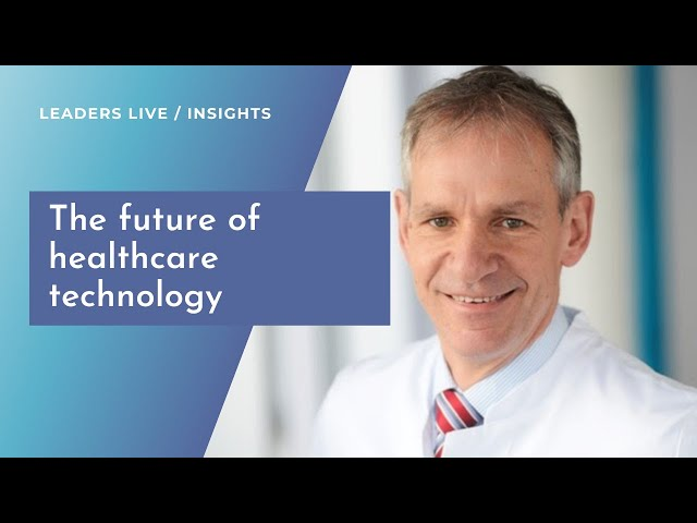 Mark Dominik Alscher from Bosch on the future of healthcare technology | Leaders LIVE Insights