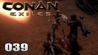 CONAN EXILES [039] [Skelette der Verderbnis] Gameplay Deutsch German thumbnail
