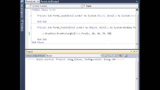 Draw y Fill Rectangle Visual Basic 2010