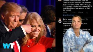 Republican Kellyanne Conway's Daughter Is A Liberal Tiktoker