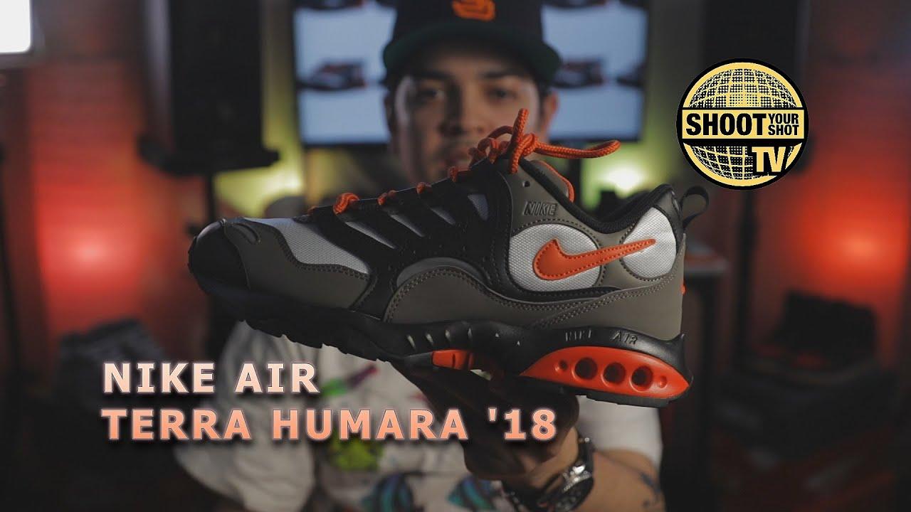 Nike Air Terra Humara '18 unboxing and