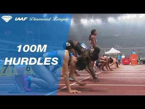 Brianna McNeal Wins Women's 100m Hurdles - IAAF Diamond League Shanghai 2018