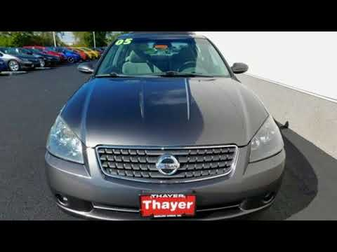 Used 2005 Nissan Altima Bowling Green Oh Perrysburg Oh 17670a