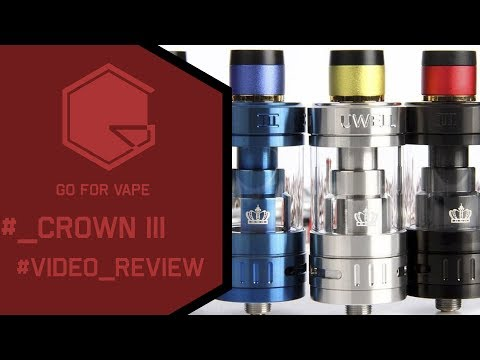 Uwell CROWN III - better than whole his family ! - LT