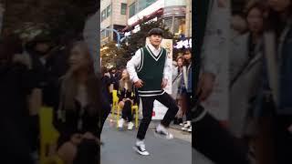 2018.2.18&걷고싶은거리&홍대&공차앞&여성댄스팀&Diana(경웅)&by큰별