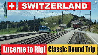 Lucerne to Rigi | The Classic Scenic Round Trip | Switzerland | 4K