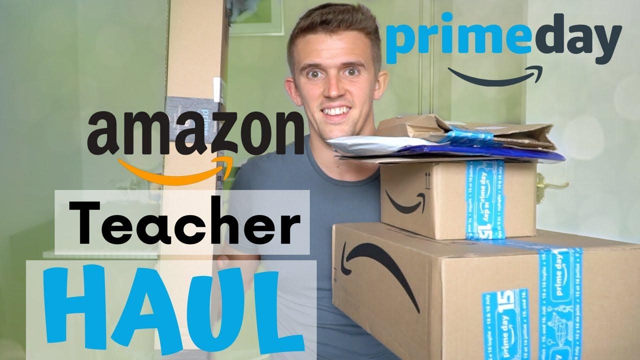 Huge Teacher Amazon Haul: Prime Day UK
