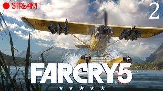 🔴 Путешествую по Монтане в Far Cry 5 ●  [часть 2] ● PC 1080p 60fps