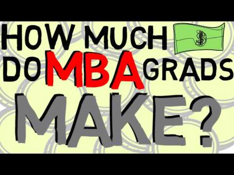 How Much Money do MBA Graduates Make? 💰💰