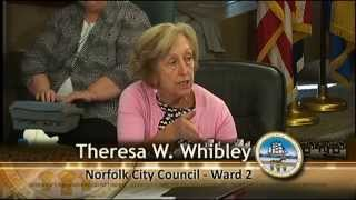 Work 09/15/15 Session - Norfolk City Council