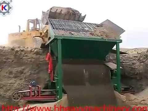 dry magnetic separator production field-henghong.