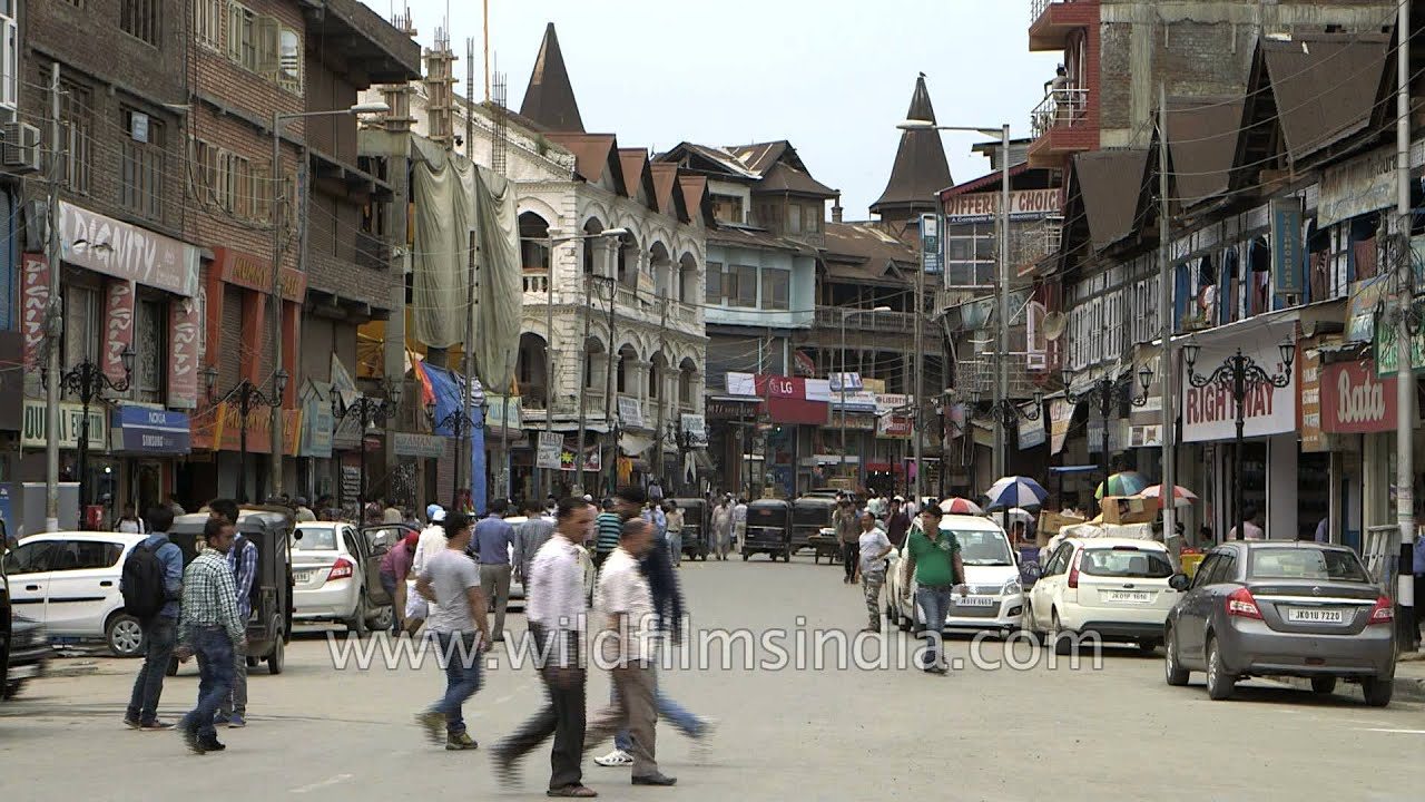Srinagar's Lal Chowk market looks straight out of Europe