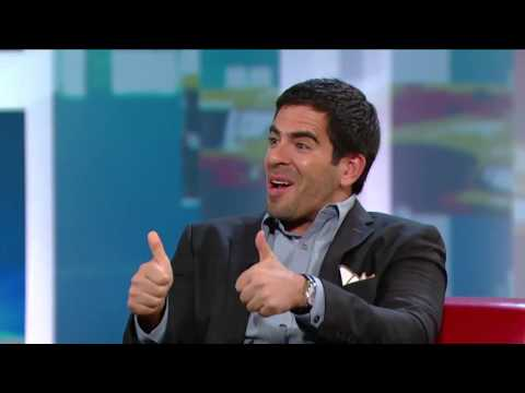 Eli Roth On George Stroumboulopoulos Tonight: INTERVIEW