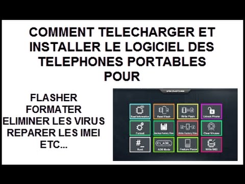 "APPLICATION POUR FLASHER  FORMATER RÉPARER IMEI DE  N""IMPORTE QUEL MODEL ANDROID [TUTO]"