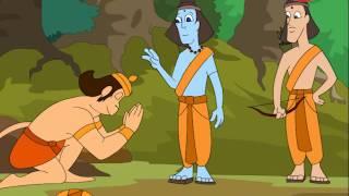 Gujarati Stories For Kids | Hanuman Gujarati Stories 02 | Hanuman meets Ram