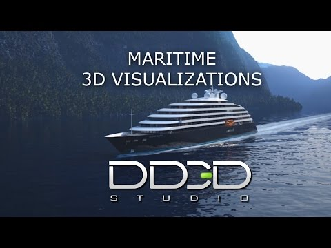 DD3D studio - Maritime 3D visualizations
