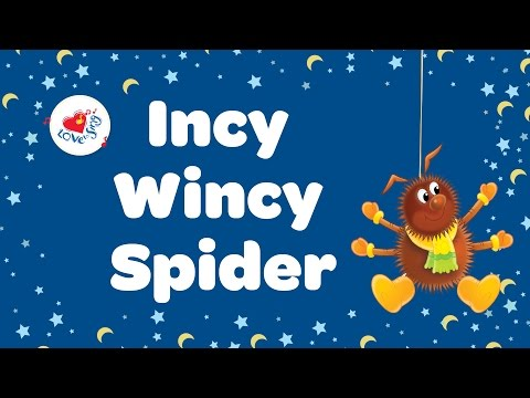 Incy Wincy Spider Nursery Rhyme With Lyrics 🐑 | Children Love to Sing