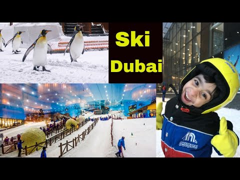 Ski Dubai:|family time :|Mall Of Emirates with #fizzkaleem