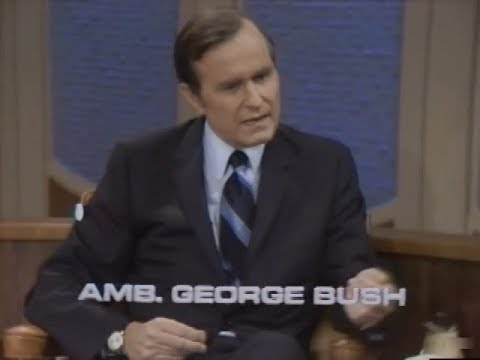 George H. W. Bush Interview on The Dick Cavett Show 1971