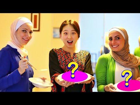 Cooking Syrian Food Challenge *Burn🔥*||  SophieTime