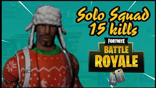 Ninja Fortnite SS6 - New Yuletide Ranger Skin Game Solo Play