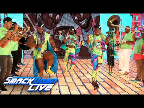 The New Day brings New Orleans' jazzy flavor to Team Blue: SmackDown LIVE, June 13 ,2017