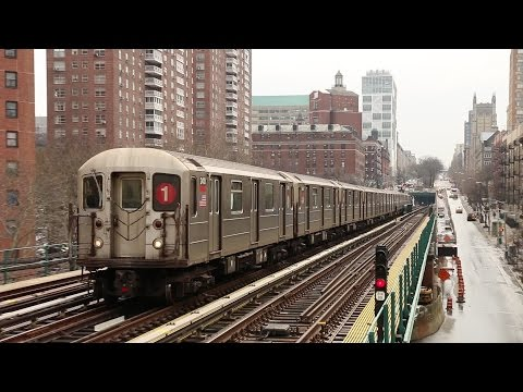 NYC Subway: Elevated Trains at 125th Street