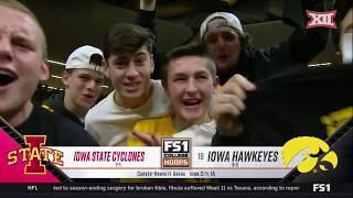Iowa State vs Iowa Men's Basketball Highlights