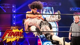 RUSH and Brody King Lock Horns at Final Battle 2020!