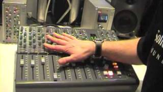 Download Video Solid State Logic X-Desk compact mixer at Musik Messe 2009 MP3 3GP MP4