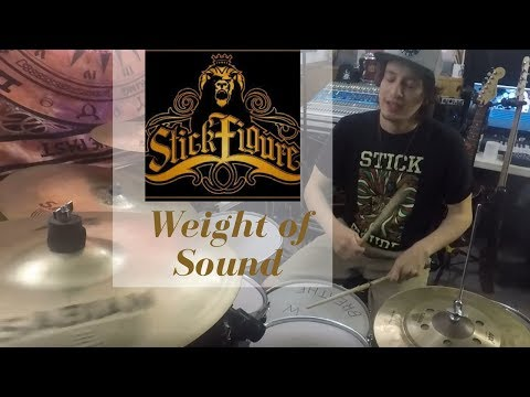 Stick Figure | Drum Cover | Weight of Sound (feat. TJ O'Neill)
