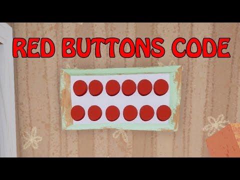 HELLO NEIGHBOR BETA 3 RED BUTTONS CODE