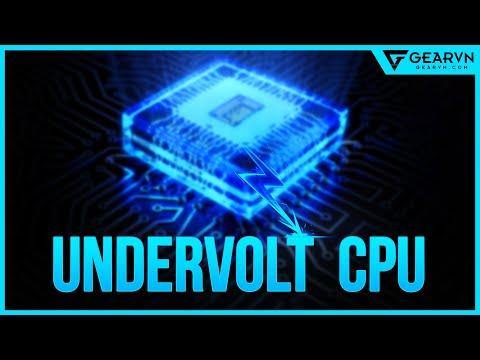 Thử Giảm Nhiệt độ Cho CPU Và Cái Kết Bất Ngờ! - Undervolt CPU   GEARVN