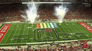 the ohio state university marching band september 27 halftime show the wizard of oz