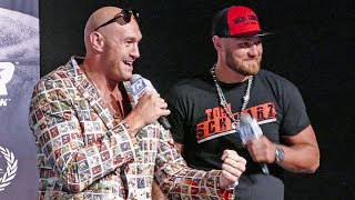 'THE GYPSY KING' Starts Press Conference WITH A BANG! - Tyson Fury vs. Tom Schwarz