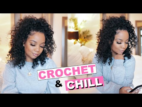 protective-style-for-natural-hair:-quick-crochet-w/-trendy-tresses-goddess-curl