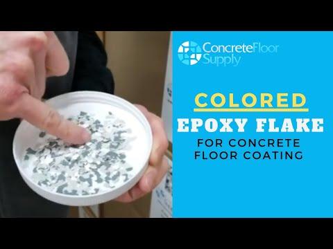 B-414 Colored Epoxy Flake for Concrete Floor Coating