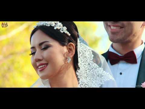 Свадебный фильм Абылайхана и Акботы. Шикарная свадьба в Алматы . RproStudio