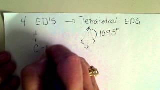 "Electron Domain Geometries (EDG""S) around a central atom in a molecule"