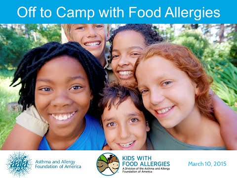 Summer Camp with Food Allergies