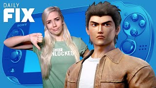 SAD News for PlayStation Vita and Shenmue III - IGN Daily Fix