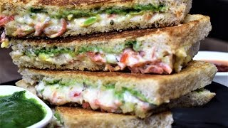 Veg Mayonnaise Sandwich Recipe - Veg MAYO SANDWICH - Perfect for Kids Lunchbox - Breakfast Recipes