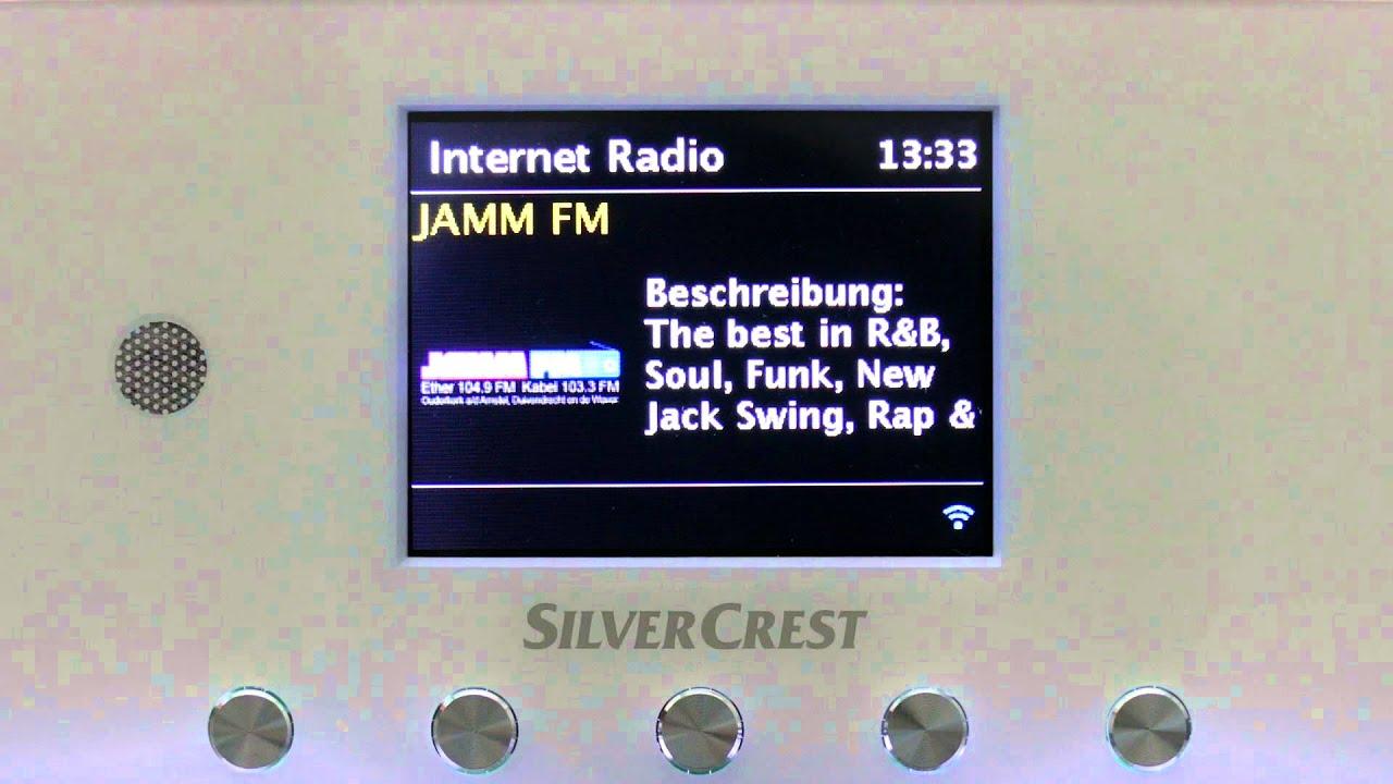 internet radio mit dem silvercrest sird 14 b1 youtube. Black Bedroom Furniture Sets. Home Design Ideas