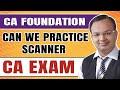 ca foundation   क्या scanner practice करना चाहिए   #crackinthisattempt