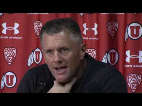Utah coach Kyle Whittingham and players on the Utes' 30-28 loss to Oregon