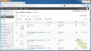 How to Add Image, Video & Audio in Wordpress (Media Library)(Welcome back for another Wordpress tutorial. This time, we're going to take a look at media. So over on the left hand side under the dashboard toolbar, we're ..., 2013-12-22T16:10:01.000Z)