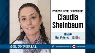 Primer Informe de Gobierno de Claudia Sheinbaum