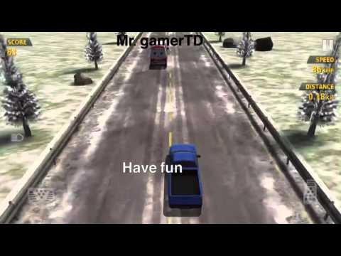 Traffic race driving 1995 truck take a look