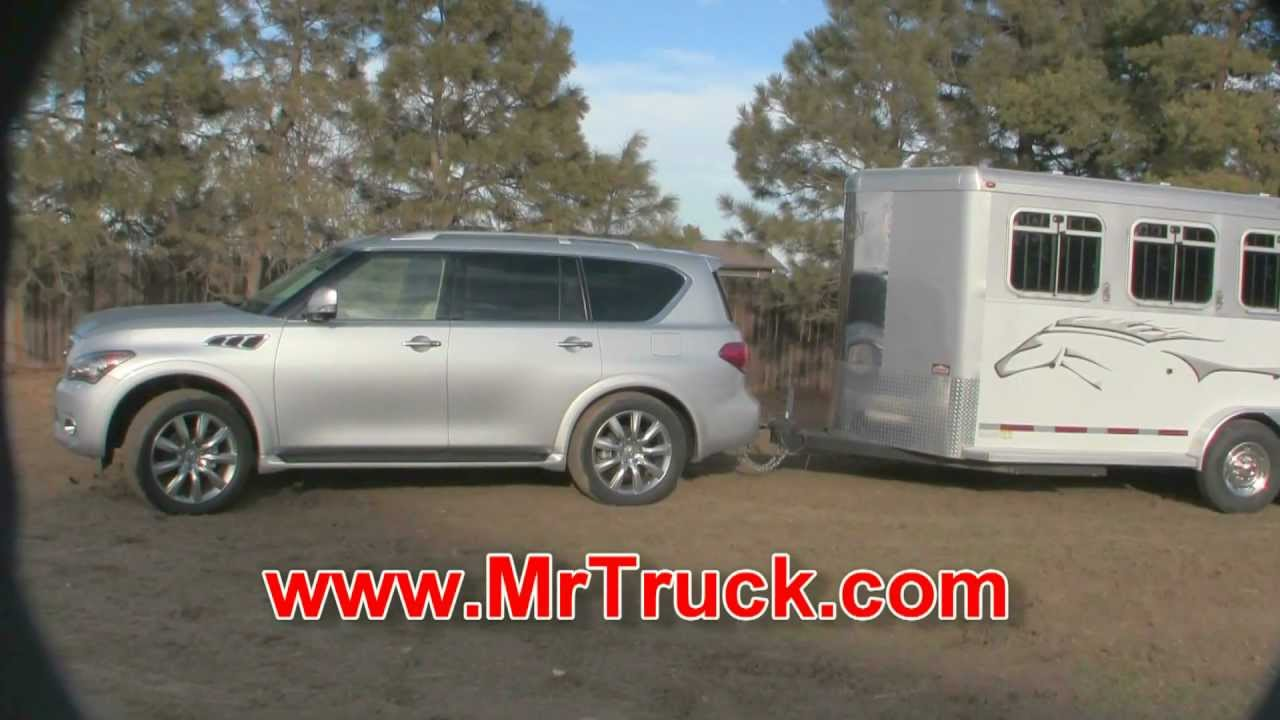 2012 infiniti qx56 suv review towing trailers by youtube. Black Bedroom Furniture Sets. Home Design Ideas