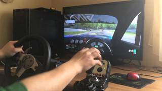 Testing Project Cars with Logitech G25 Assistance Off